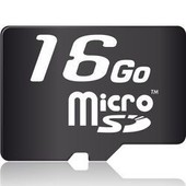 memoire_micro_SD_card - SDHC 16Go (T-Flash)