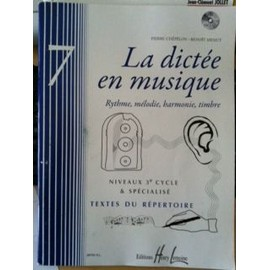 La dictée en musique