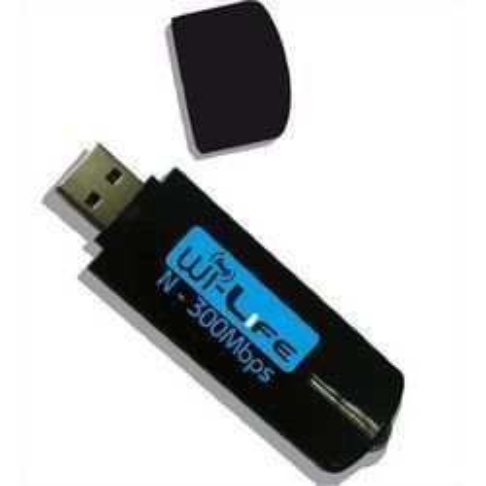 Carte_réseau_sans_fil - Clé USB Wifi N 300 Mbps