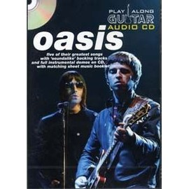 OASIS PLAY ALONG GUITAR AUDIO CD (format boitier DVD)