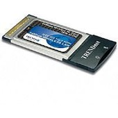TRENDnet TEW-421PC - Carte PCMCIA WiFi 802.11g 54Mbps