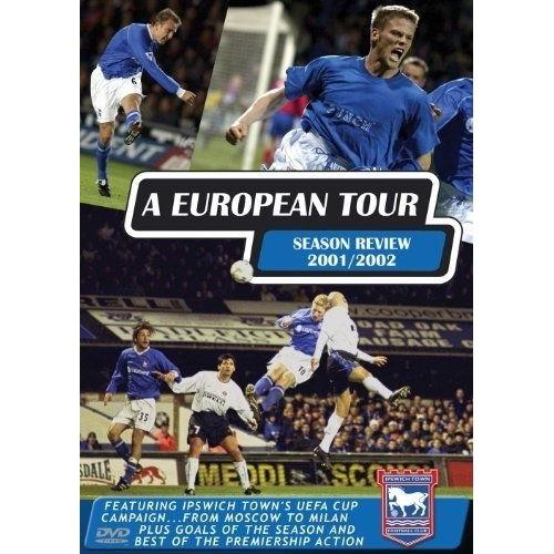 Ipswich Town Fc A European Tour 2000/01 Dvd Edition simple