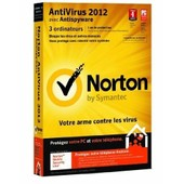Norton Antivirus 2012 - Ensemble De Bo�tes ( 1 An ) - 3 Pc Par Foyer - Cd - Win - Fran�ais