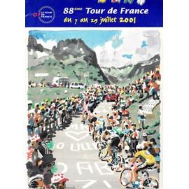 88e Tour De France Du 7 Au 29 Juillet 2001 Porte-Documents 21x29 Cm Avec 20 Feuillets Explicatifs 1