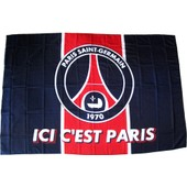 Drapeau Football Paris Saint Germain Logo Maillot Psg Ligue 1