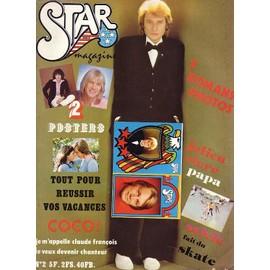Star Magazine N�2 Hallyday-Vartan-Francois-Renaud-F.Valerie