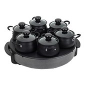 Tristar BP-2982 Cook&Go wok set - Cr�pi�re