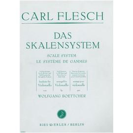 Carl Flesch : Le systèrme de gammes pour violoncelle