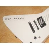 Guitare Miniature Metallica * James Hetfiefd - Eet Fuk