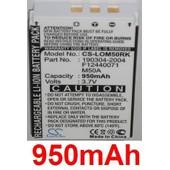 Batterie Pour Logitech Dinovo Edge, Dinovo Mini, Y-Ray81, P/N: 190304-2004, F12440071, M50a, **950mah**