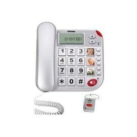 Brondi SUPER BRAVO PLUS Téléphone filaire avec ID dappelant