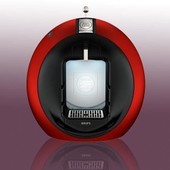 Cafeti�re A Dosettes Circolo Rouge - Cafeti�re Dolce Gusto Rouge