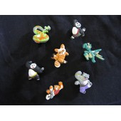 8 Pins Clip Jibbitz Pour Sabots Kung Fu Panda