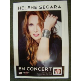 Affiche Hélène SEGARA 2011 40 x 60