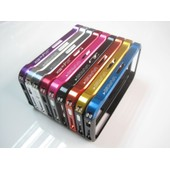 Etui Coque Housse Vapor Bumper Iphone 4 4s Aluminium Element Case Alu Carbone