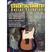 Essential Country Guitar Technique Tab Cd