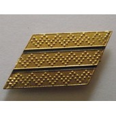 Barrette M�tallique Grade Sergent-Chef Pour Calot Arm�e De L'air