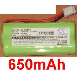 Batterie 650mAh pour Siemens Gigaset type V30145 K1310 X383