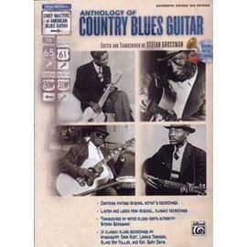 GROSSMAN STEFAN ANTHOLOGY OF COUNTRY BLUES GUITAR TAB CD