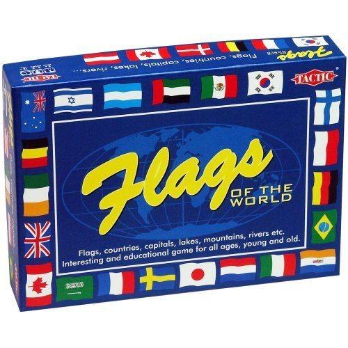 Jeu éducatif Les drapeaux - Flags Of The World - Langue : Anglais.