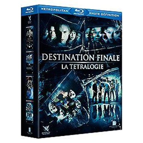 Destination finale - Coffret de la tétralogie (Blu-ray)