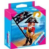 Playmobil 4690 - Pirate Avec Drapeau