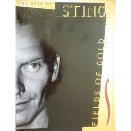 The Best Of Sting:1984-1994: Fields Of Gold Piano, Vocal & Guitar (with Chord Boxes)