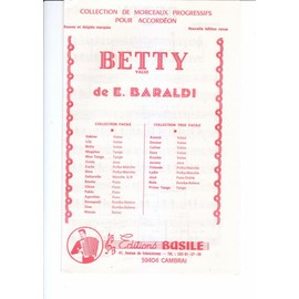 betty valse pour accordéon