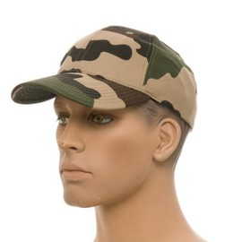 Casquette Camo Cce Camouflage Centre Europe Reglable Airsoft