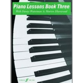 Piano Lessons Book Three with Fanny Waterman & Marion Harewood