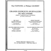 Grands Exercices Journaliers De M�canisme Saxophone