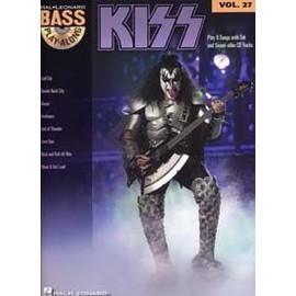 BASS PLAY ALONG VOL.27 KISS TAB CD