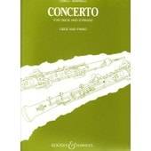 Oboe Concerto Piano Reduction - Oboe And Piano
