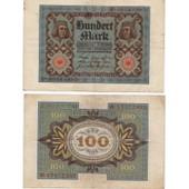 Billet De 100 Reich Mark Du 1/11/1920 Allemagne
