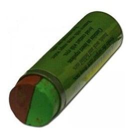 Stick Baton Cr�me Camouflage Bicolore 2 Couleurs Vert Kaki Marron Brun Miltec 16336000 Airsoft