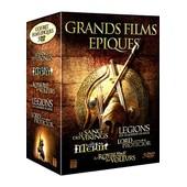 Grands Films �piques : Le Sang Des Vikings + Le Royaume Des Voleurs + Legions : Les Guerriers De Rome + Merlin + Lord Protector - Pack de David Lister