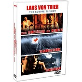 Lars Von Trier - The Europe Trilogy : The Element Of Crime + Epidemic + Europa - Pack de Lars Von Trier
