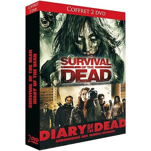 Survival Of The Dead , Diary Of The Dead Coffret De 2 Dvd Edition simple