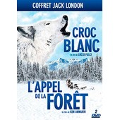 Coffret Jack London : Croc-Blanc + L'appel De La For�t - Pack de Lucio Fulci