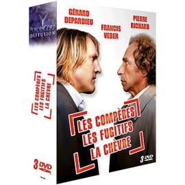 Image 3 Films De Francis Veber La Chèvre + Les Compères + Les Fugitifs Pack