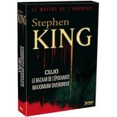 Stephen King : Cujo + Le Bazaar De L'�pouvante + Maximum Overdrive - Pack de Lewis Teague
