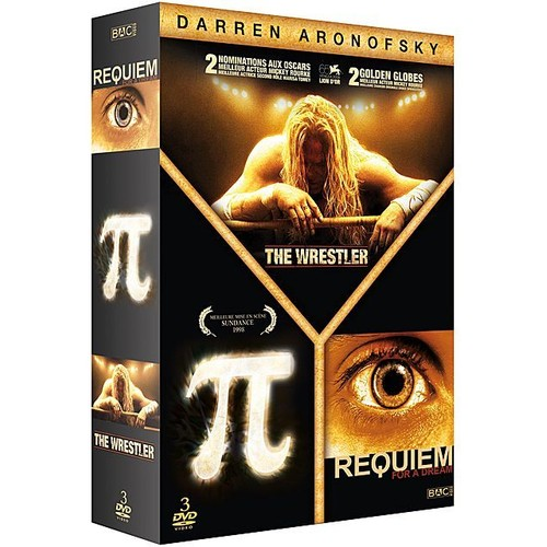 The Wrestler - PI - Requiem for a dream - Coffret