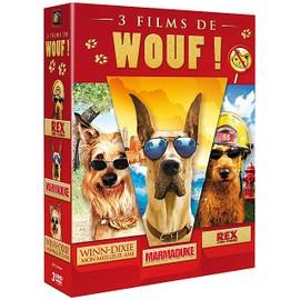 Image 3 Films De Wouf ! Marmaduke + Winn Dixie Mon Meilleur Ami + Rex, Chien Pompier Pack