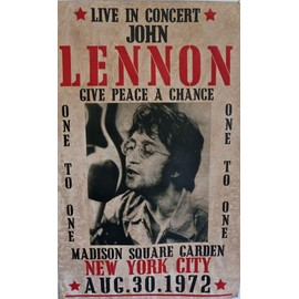 john lennon ex BEATLES give a peace a chance