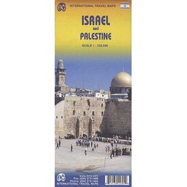 Israel / Palestine Travel Map 1 : 225 000