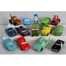 Disney Cars Pixar Flash Mc Queen Set De 14 Mini Voitures