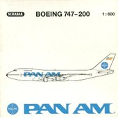 Boeing 747-200 Pan Am - Avion M�tal �chelle 1:600