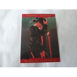 Michael Jackson Trading Cards Panini 1996 France N°109