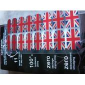 Nail Patch Nail Foil Nail Art M073 Drapeau Uk Anglais Sticker Ongles