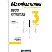 Math�matiques Deug Sciences 2�me Ann�e. 2�me �dition de Jean Avignant
